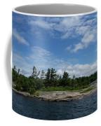 Fabulous Northern Summer - Georgian Bay Island Landscape Coffee Mug
