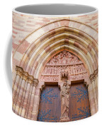 Facade Church Of Obernai,alsace France 073540 Coffee Mug