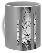 Face In Space B G Coffee Mug