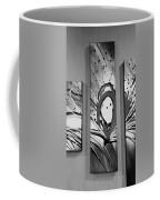 Face In Space B W I Coffee Mug