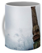 Face In The Clouds Coffee Mug