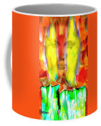 Face In The Flames Coffee Mug