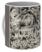 Face In The Storm Coffee Mug