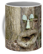 Face In The Woods Coffee Mug