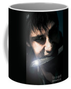 Face Of Fear And Danger Coffee Mug
