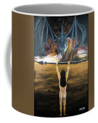 Face The Dragon Coffee Mug
