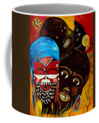 Faces Of Africa Coffee Mug