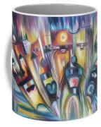 Facial Expression Colorful Coffee Mug