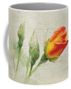 Faded Floral 9 Coffee Mug