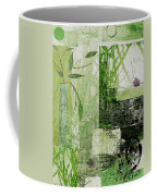 Faded Floral Coffee Mug