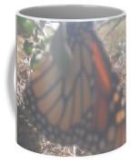 Faded Monarch  Coffee Mug