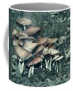 Faded Mushrooms Parade  Coffee Mug