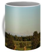 Faint Tetons Coffee Mug