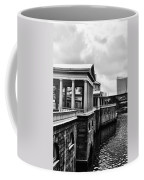 Fairmount Water Works In Black And White Coffee Mug