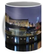 Fairmount Waterworks And Art Museum At Night Coffee Mug