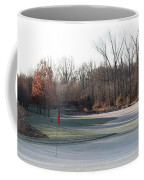 Fairway Hills - 7th - Beware Of The Tree And The Pond Panorama Coffee Mug