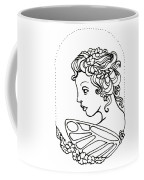 Fairy Cameo Coffee Mug