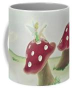 Fairy On Mushroom Trees Coffee Mug