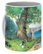 Fairy-tale Pushkin Lukomorye Coffee Mug