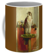 Falcon Coffee Mug by Sir Edwin Landseer