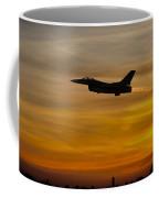 Falcon Sunset Coffee Mug