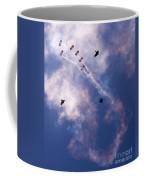 Falcons Versus Crows Coffee Mug