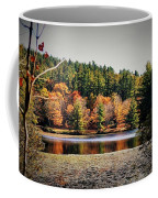 Fall At Bass Lake Coffee Mug