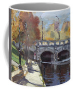 Fall At Delaware Park Buffalo Coffee Mug
