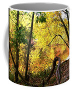 Fall At Lincoln Lake Coffee Mug