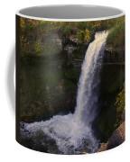 Fall At Minnehaha Falls Coffee Mug
