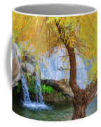 Fall At Murray Falls II Coffee Mug