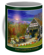 Fall At The Campton Farm Coffee Mug