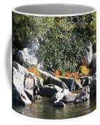 Fall At The Creek Coffee Mug