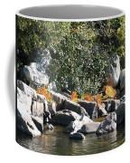 Fall At The Creek Coffee Mug