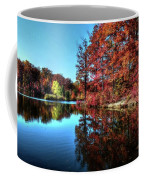 Fall At The Crosspointe Lake Coffee Mug