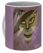 Fall Cat Coffee Mug