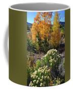 Fall Color Comes To Dillon Reservoir Coffee Mug