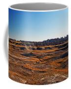Fall Color In The Badlands Coffee Mug