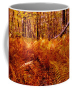 Fall Color In The Woods Coffee Mug