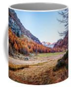 Fall Colors At Alpe Devero Coffee Mug