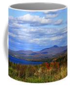 Fall Colors At Lake Carmi Coffee Mug
