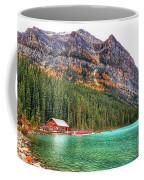 Fall Colors At Lake Louise Alberta  Coffee Mug