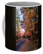 Fall Colors Backroad Coffee Mug