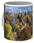Fall Colors In Spokane From The Post Street Hill Coffee Mug