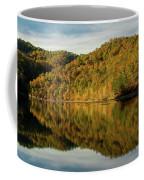 Fall Colors On Lake Reflection Coffee Mug