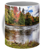 Fall Colors On The Moose River Coffee Mug