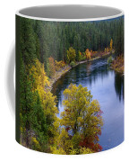 Fall Colors On The River Coffee Mug