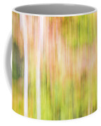 Fall Colours Abstract, Oxtongue River, Algonquin Highlands Coffee Mug