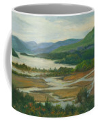 Fall Day Constitution Marsh View From Boscobel Coffee Mug