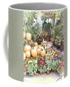 Fall Decorating At The Market Coffee Mug